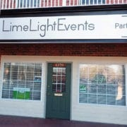Limelight Events Sign